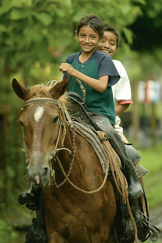 Kids from El Angelo