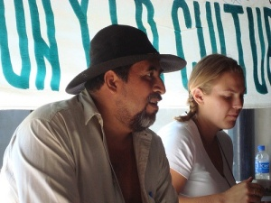 Meeting with Francisco from the Environmental Committee of Cabañas