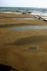 Undeveloped beach along the San Juan del Gozo Peninsula