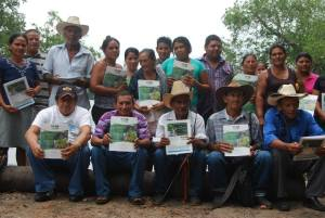 Jose Santos Guevarra (aka Mario) in a community meeting to discuss MCC and tourism issues