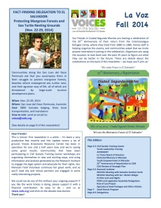 Vocies Newsletter Sept. 2014 (Eng)