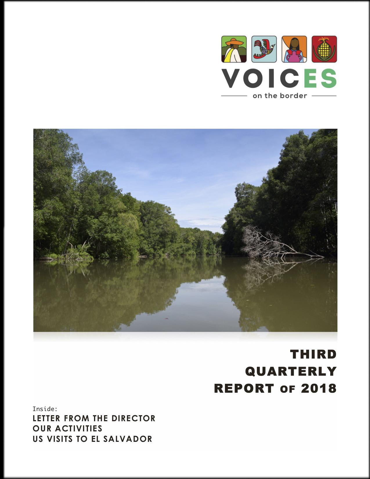 VOTB_3rd Quarter 2018 COVER