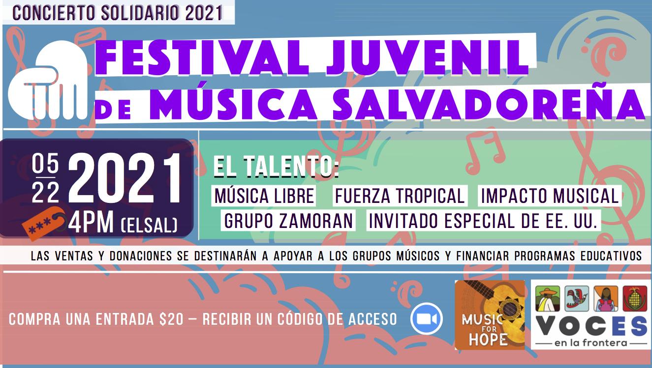 ConciertoBenefico 2021 event banner