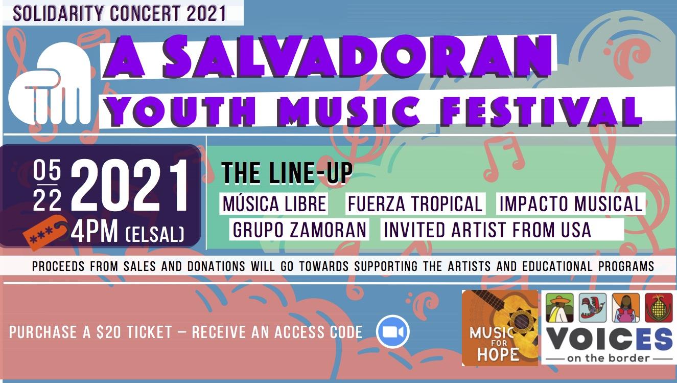 ConciertoBenefico 2021 event banner(eng)